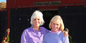 Alice Page and sister Margie Anderson welcome IPMC jobseekers and their families to Rotherwood stables, in an unrushed visit to see the facilities, meet kids and parents, and learn about the joy of having horses in Kingsport, Tennessee
